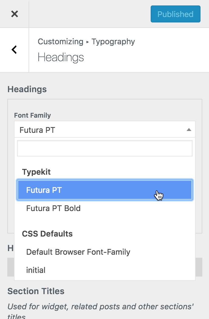 Typekit Fonts - Powerkit Documentation - Code Supply Co